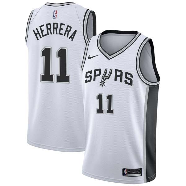 Carl Herrera Spurs #11 Twill Jerseys