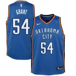 Horace Grant Twill Basketball Jersey -Thunder #54 Grant Twill Jerseys, FREE SHIPPING