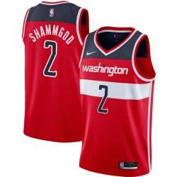 God Shammgod Twill Basketball Jersey -Wizards #2 Shammgod Twill Jerseys, FREE SHIPPING