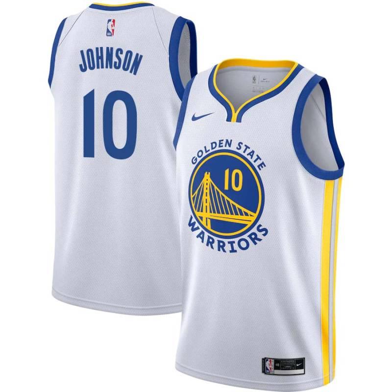Charles Johnson Warriors #10 Twill Jerseys free shipping