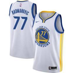 Vladimir Radmanovic Twill Basketball Jersey -Warriors #77 Radmanovic Twill Jerseys, FREE SHIPPING