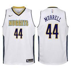Nuggets #44 Willie Murrell| Willie Rogers| Ben Warley| Ralph Simpson| Dan Issel Twill Basketball Jersey