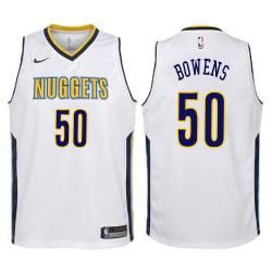 Nuggets #50 Tommie Bowens| Charles Parks| Dwight Waller| Julius Keye| Joe Kopicki| Steve Scheffler| Matt Fish| Ervin Johnson| Da
