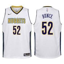 Nuggets #52 Larry Bunce| Julius Keye| Norm Cook| Terry Davis Twill Basketball Jersey