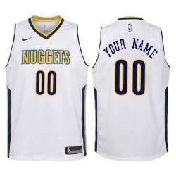 Denver Nuggets #00 Custom Twill Basketball Jersey