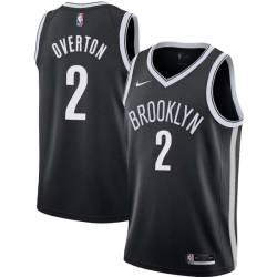 Doug Overton Nets #2 Twill Basketball Jersey FREE SHIPPING