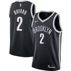 Rodney Buford Nets #2 Twill Basketball Jersey FREE SHIPPING