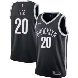 Kurk Lee Nets #20 Twill Basketball Jersey FREE SHIPPING