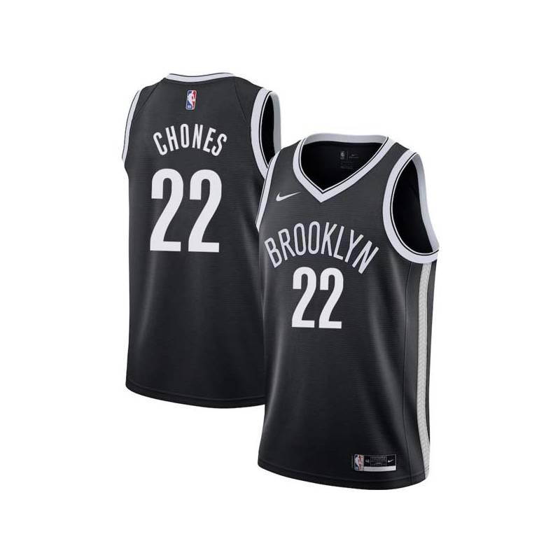 Jim Chones Nets #22 Twill Basketball Jersey FREE SHIPPING
