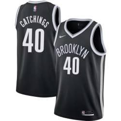 Harvey Catchings Nets #40 Twill Basketball Jersey FREE SHIPPING