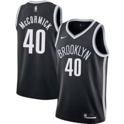 Tim McCormick Nets #40 Twill Basketball Jersey FREE SHIPPING