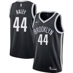 Jack Haley Nets #44 Twill Basketball Jersey FREE SHIPPING