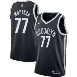 Gheorghe Muresan Nets #77 Twill Basketball Jersey FREE SHIPPING