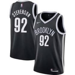 DeShawn Stevenson Nets #92 Twill Basketball Jersey FREE SHIPPING