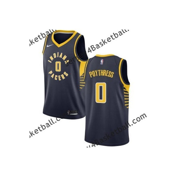 reputable site 6d788 e9c87 Indiana 0 Alex Poythress Pacers Twill Basketball Jersey Free Shipping