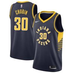 Stephen Chubin Pacers #30 Twill Basketball Jersey FREE SHIPPING