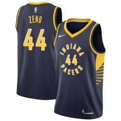 Tony Zeno Pacers #44 Twill Basketball Jersey FREE SHIPPING