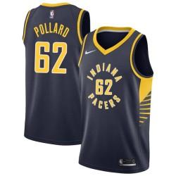 Scot Pollard Pacers #62 Twill Basketball Jersey FREE SHIPPING