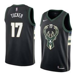 P.J. Tucker Bucks #17 Twill Basketball Jersey FREE SHIPPING