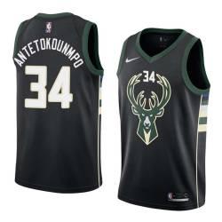 Giannis Antetokounmpo Bucks #34 Twill Basketball Jersey FREE SHIPPING