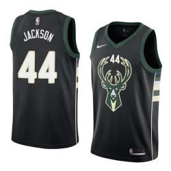 Justin Jackson Bucks #44 Twill Basketball Jersey FREE SHIPPING