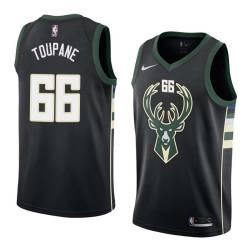 Axel Toupane Bucks #66 Twill Basketball Jersey FREE SHIPPING