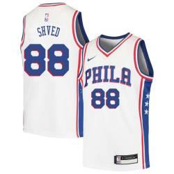 Alexey Shved Twill Basketball Jersey -76ers #88 Shved Twill Jerseys, FREE SHIPPING
