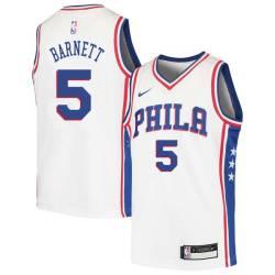 Dick Barnett Twill Basketball Jersey -76ers #5 Barnett Twill Jerseys, FREE SHIPPING