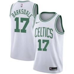 Don Barksdale Twill Basketball Jersey -Celtics #17 Barksdale Twill Jerseys, FREE SHIPPING