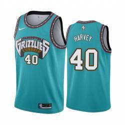 Antonio Harvey Grizzlies #40 Twill Basketball Jersey FREE SHIPPING