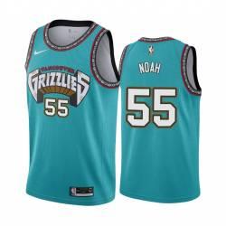 Joakim Noah Grizzlies #55 Twill Basketball Jersey FREE SHIPPING