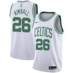 Toby Kimball Twill Basketball Jersey -Celtics #26 Kimball Twill Jerseys, FREE SHIPPING