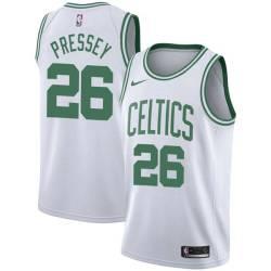 Phil Pressey Twill Basketball Jersey -Celtics #26 Pressey Twill Jerseys, FREE SHIPPING