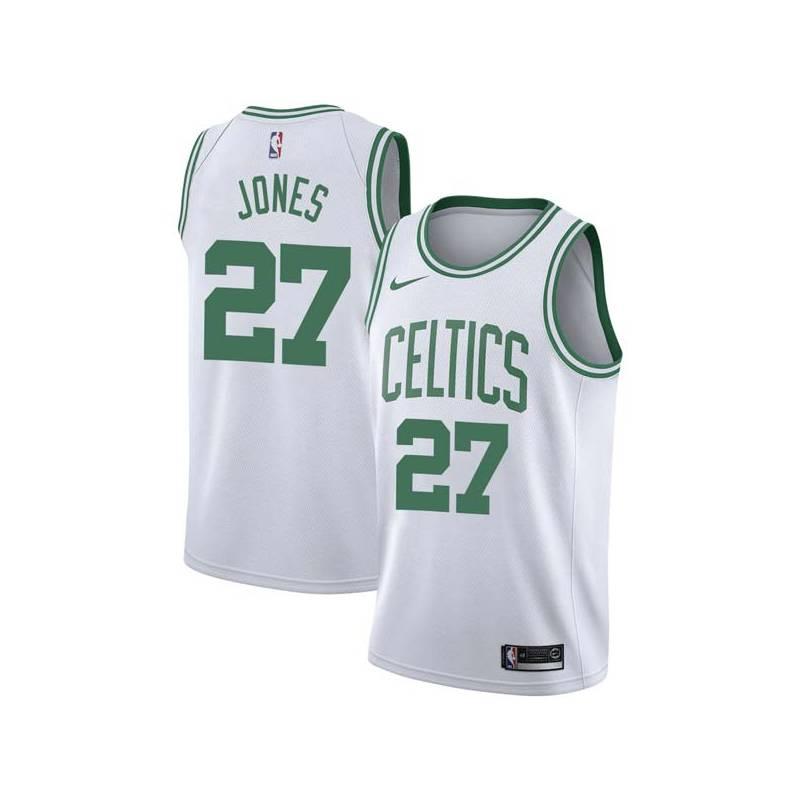 K.C. Jones Twill Basketball Jersey -Celtics #27 Jones Twill Jerseys, FREE SHIPPING
