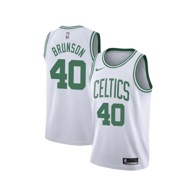 quality design c0757 d69e3 Rick Brunson Celtics #40 Twill Jerseys free shipping