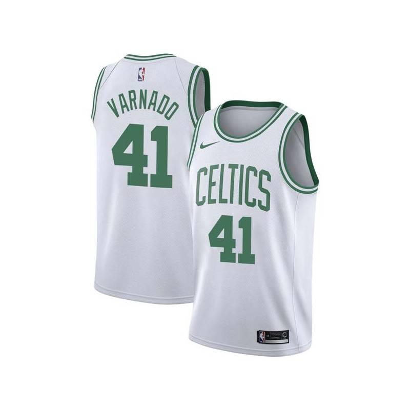Jarvis Varnado Twill Basketball Jersey -Celtics #41 Varnado Twill Jerseys, FREE SHIPPING