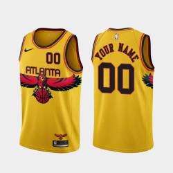 Customized Atlanta Hawks Twill Basketball Jersey FREE SHIPPING