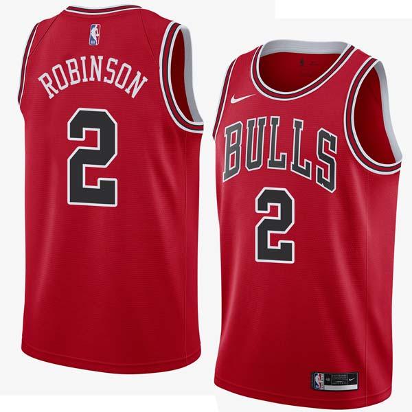 Nate Robinson Bulls #2 Twill Jerseys free shipping