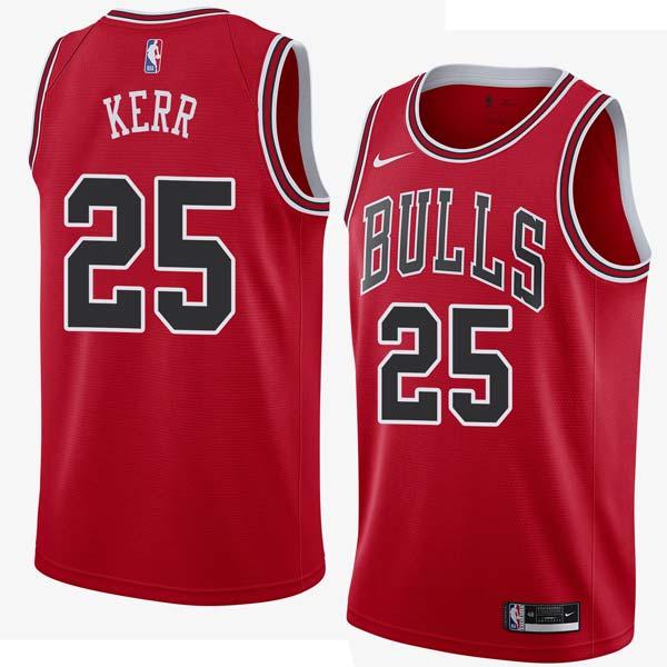 finest selection 2b064 692c0 Steve Kerr Bulls #25 Twill Jerseys free shipping