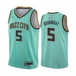2021 Draft James Bouknight Hornets #5 Twill Basketball Jersey FREE SHIPPING