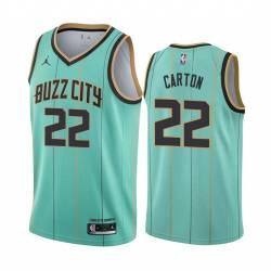 2021 Draft D.J. Carton Hornets #22 Twill Basketball Jersey FREE SHIPPING