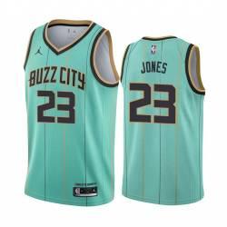 2021 Draft Kai Jones Hornets #23 Twill Basketball Jersey FREE SHIPPING