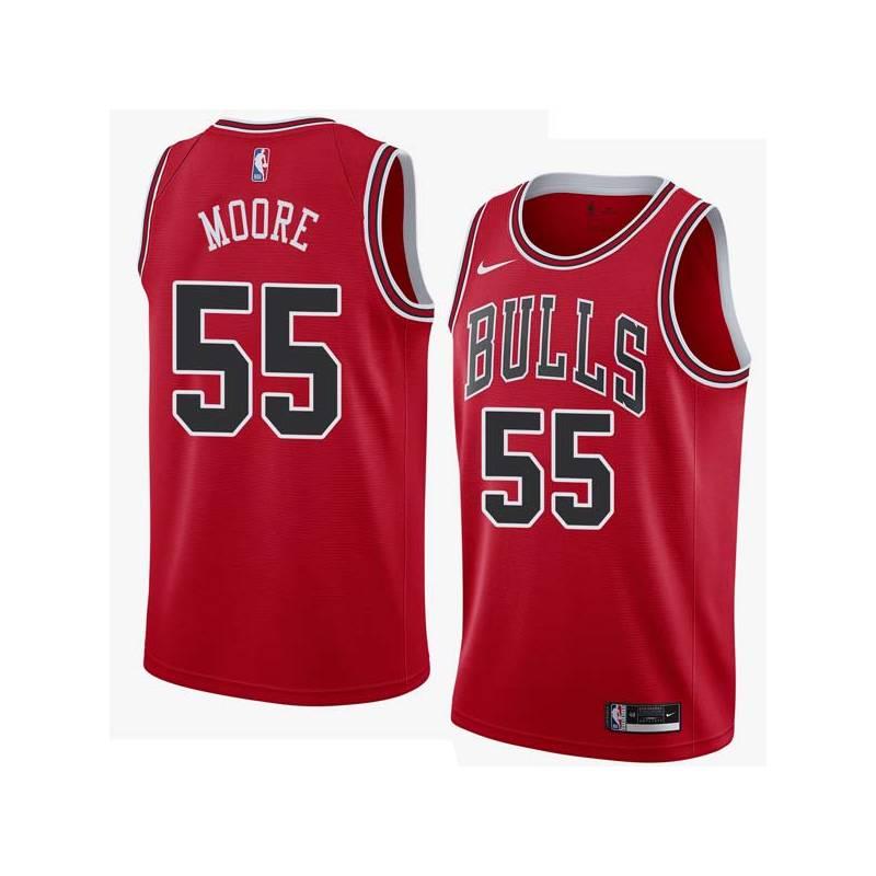 size 40 5ad92 32dde E'Twaun Moore Bulls #55 Twill Jerseys free shipping