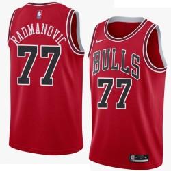 Vladimir Radmanovic Twill Basketball Jersey -Bulls #77 Radmanovic Twill Jerseys, FREE SHIPPING