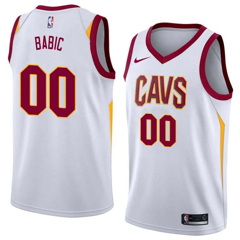 Milos Babic Twill Basketball Jersey -Cavaliers #00 Babic Twill Jerseys, FREE SHIPPING