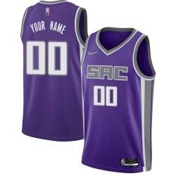 Customized Sacramento Kings Twill Basketball Jersey FREE SHIPPING