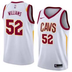 Mo Williams Twill Basketball Jersey -Cavaliers #52 Williams Twill Jerseys, FREE SHIPPING