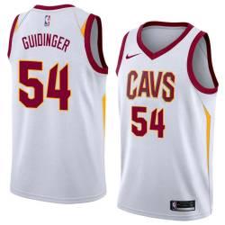 Jay Guidinger Twill Basketball Jersey -Cavaliers #54 Guidinger Twill Jerseys, FREE SHIPPING