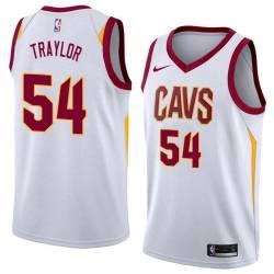 Robert Traylor Twill Basketball Jersey -Cavaliers #54 Traylor Twill Jerseys, FREE SHIPPING
