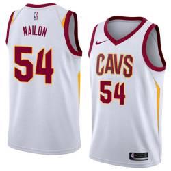 Lee Nailon Twill Basketball Jersey -Cavaliers #54 Nailon Twill Jerseys, FREE SHIPPING
